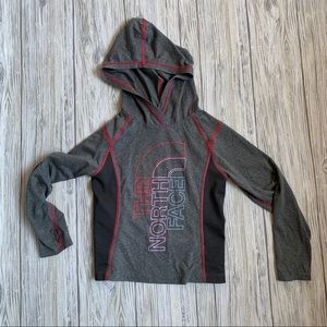 North face girl's light-weight hoodie